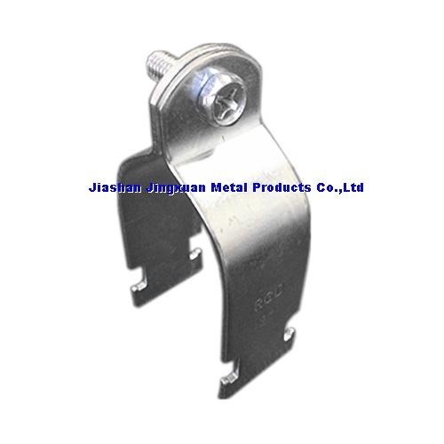 Conduit Cl&Channel Cl&  sc 1 st  Jiashan Jingxuan Metal Products Co.Ltd strut cl&loop hanger & Conduit ClampJiashan Jingxuan Metal Products Co.Ltd strut clamp ...