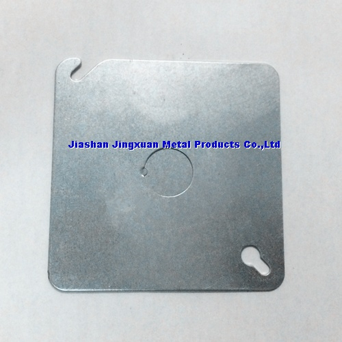 Square Steel Conduit Box Cover